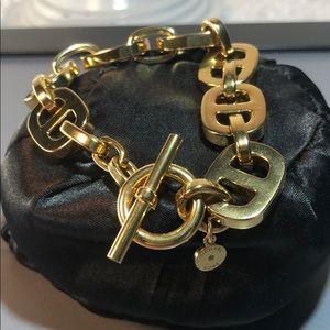 MK ~ Michael Kors Goldtone Chunky Bracelet